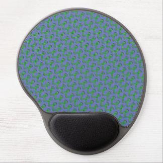 Green Standard Ribbon Gel Mouse Pad
