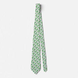 Green Standard Ribbon Neck Tie