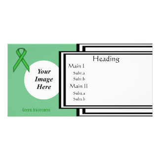 Green Standard Ribbon Template