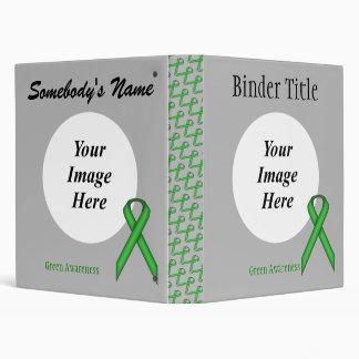 Green Standard Ribbon Template Binder