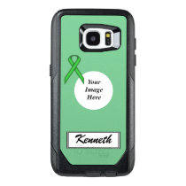 Green Standard Ribbon Template by Kenneth Yoncich OtterBox Samsung Galaxy S7 Edge Case