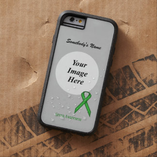 Green Standard Ribbon Template Tough Xtreme iPhone 6 Case