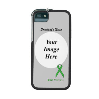 Green Standard Ribbon Template Cover For iPhone 5