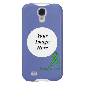 Green Standard Ribbon Template Galaxy S4 Cases