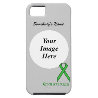 Green Standard Ribbon Template iPhone 5 Case