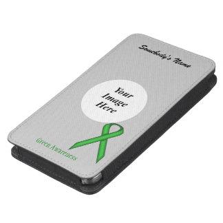 Green Standard Ribbon Template Galaxy S5 Pouch