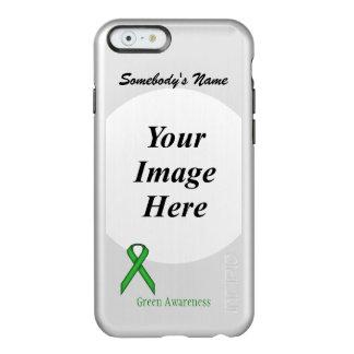 Green Standard Ribbon Template Incipio Feather Shine iPhone 6 Case