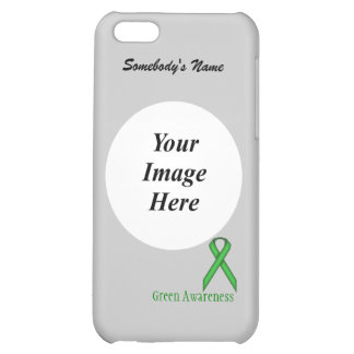 Green Standard Ribbon Template Cover For iPhone 5C