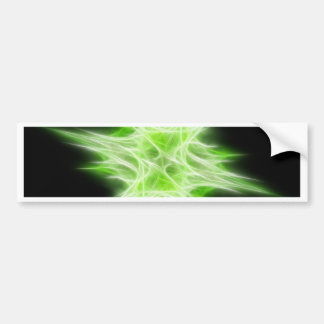 Green Star 1 Bumper Stickers
