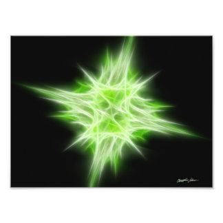 Green Star 1 Photo Art
