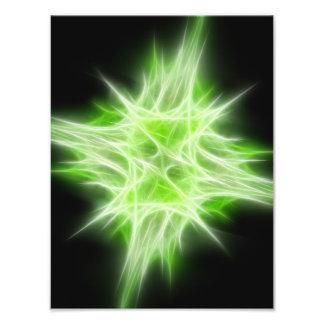 Green Star 1 Photo Print