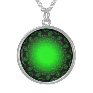 Green Star Artistic Necklace