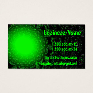 Green Star Business Card