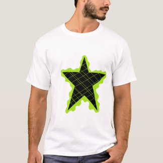 Green Star Flame T-Shirt