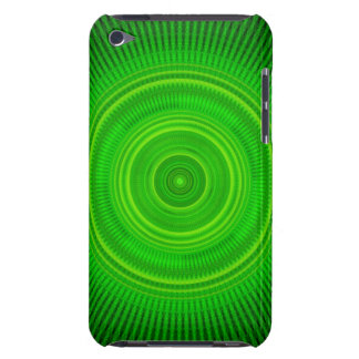 Green Star Formation Mandala Barely There iPod Case