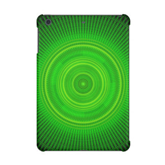 Green Star Formation Mandala iPad Mini Case