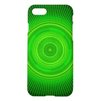 Green Star Formation Mandala iPhone 7 Case