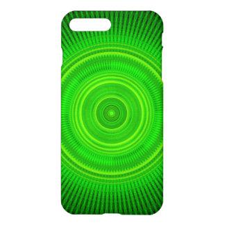 Green Star Formation Mandala iPhone 7 Plus Case