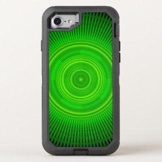 Green Star Formation Mandala OtterBox Defender iPhone 7 Case