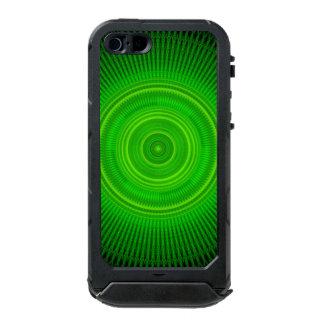 Green Star Formation Mandala Waterproof iPhone SE/5/5s Case