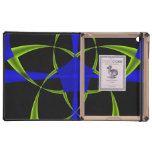 Green Star Fractal iPad Covers