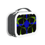 Green Star Fractal Yubo Lunchboxes
