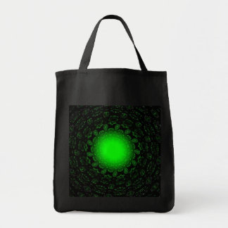 Green Star Grocery Tote Bag