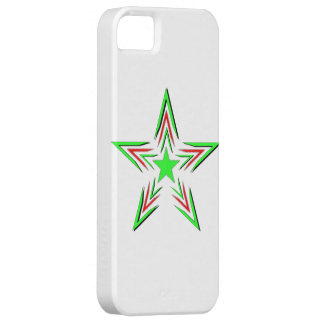 green star iPhone SE/5/5s case