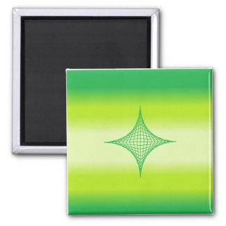 Green Star Magnet