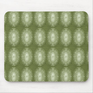 Green Star Mouse Pad