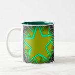 Green Star Mugs