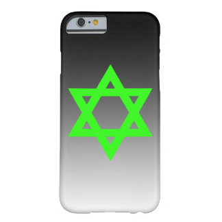 Green Star of David Barely There iPhone 6 Case