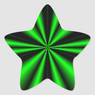 green star OF hope Star Stickers