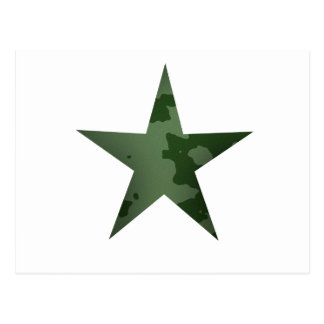 Green Star Postcard