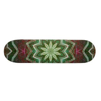 Green Star Skateboard Deck