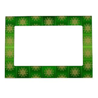 green starburst magnetic frame