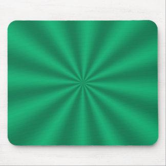 Green Starburst Mousepad