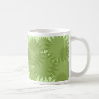 Green Starburst Mug