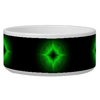 green stars pet bowls