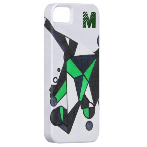 Green Stealth Barely There Iphone 5 Case