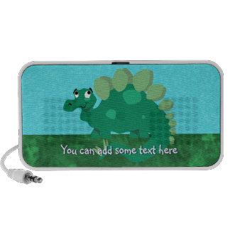 Green Stegosaurus Speaker