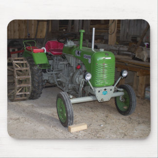 Green Steyr Tractor KL I Mouse Pad