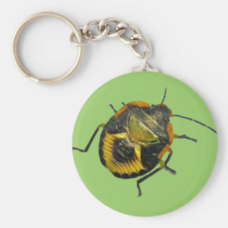 Green Stink Bug Nymph Coordinating Items Keychain