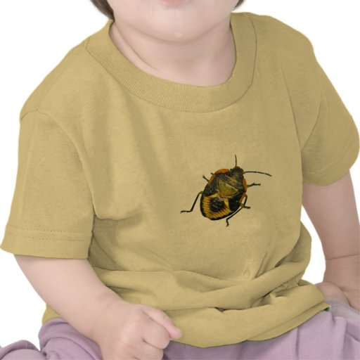 Green Stink Bug Nymph Coordinating Items T-shirts