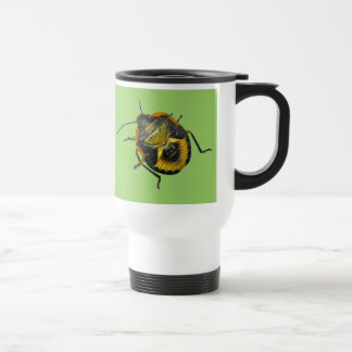 Green Stink Bug Nymph Coordinating Items Travel Mug