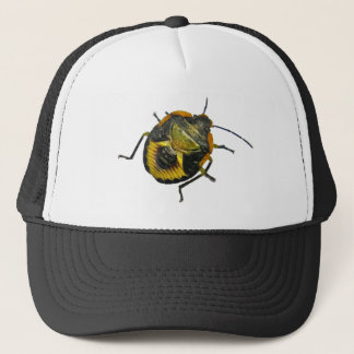 Green Stink Bug Nymph Coordinating Items Trucker Hat
