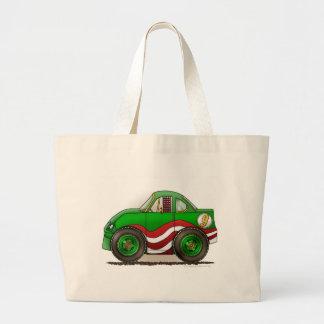 Green Stock Car Bags/Totes Jumbo Tote Bag