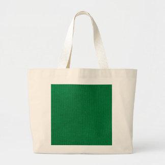 Green Stockinette Bag