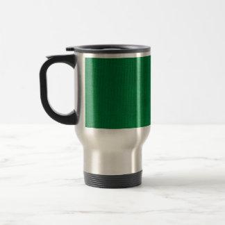 Green Stockinette Commuter Mug