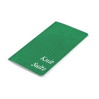 Green Stockinette Journal